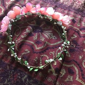 Flower Crown with Chains